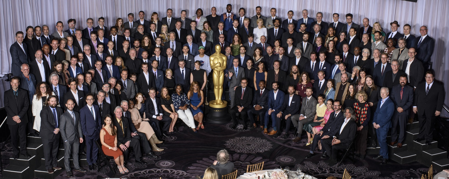 Nominees for the 89th Oscars¨ were celebrated at a luncheon held at the Beverly Hilton, Monday, February 6, 2017. The 89th Oscars will air on Sunday, February 26, live on ABC.